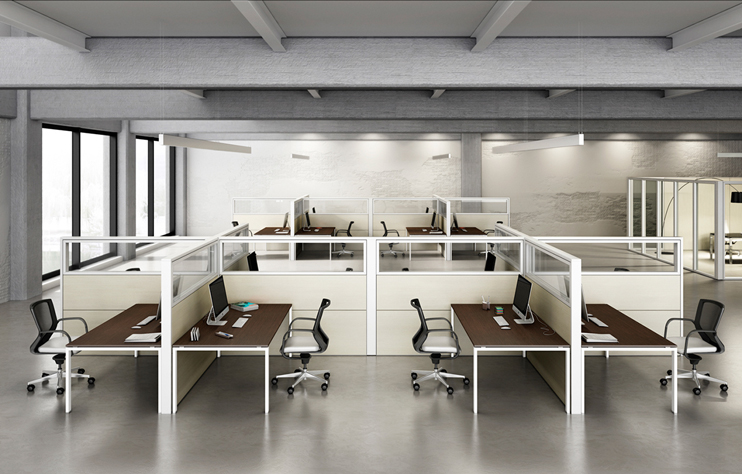 Cách lựa chọn mẫu bàn văn phòng có vách ngăn đúng chuẩn nhất