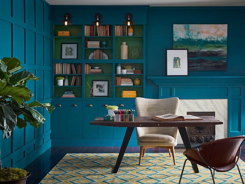 Những ý tưởng phối hợp màu sắc nội thất phòng ngủ nổi bật - 3