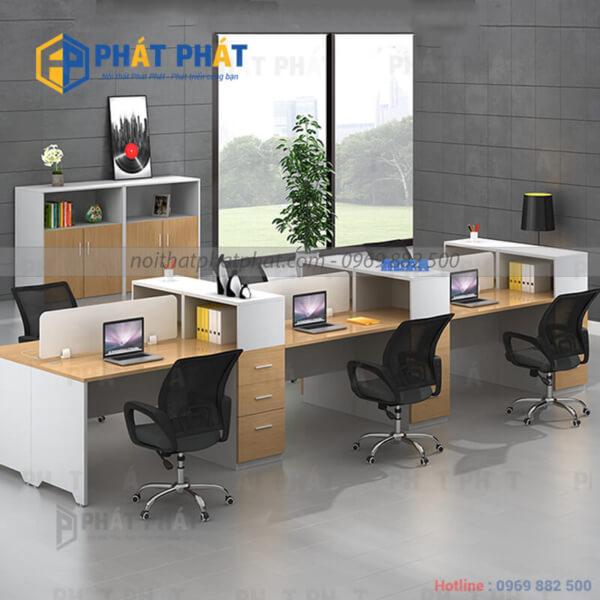 Những lý do khiến bàn văn phòng có vách ngăn ngày càng được ưa chuộng