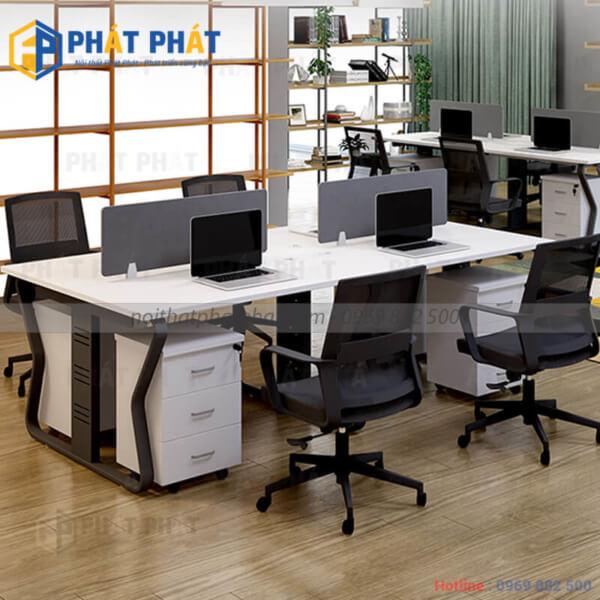 Cách lựa chọn bàn làm việc văn phòng thích hợp cho công việc