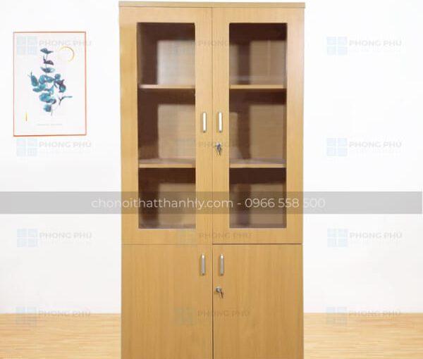Mẫu tủ tài liệu gỗ công nghiệp MFC đẹp tuyệt vời cho văn phòng