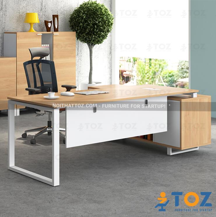 Những mẫu bàn giám đốc nổi bật đáng mua nhất của Nội thất TOZ - 1