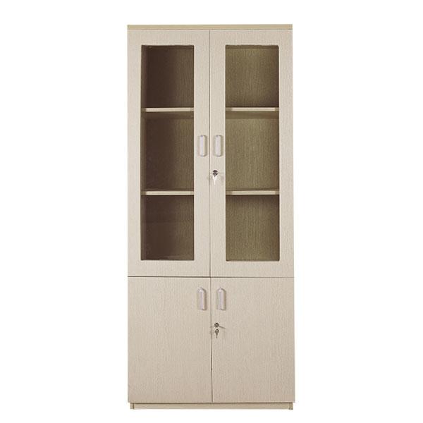 Tủ gỗ tài liệu 2 buồng TL02