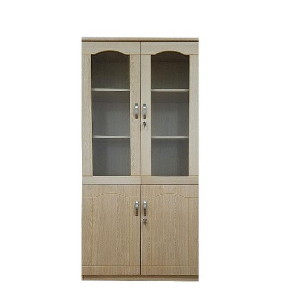 Tủ gỗ tài liệu 2 buồng cao cấp TLU02