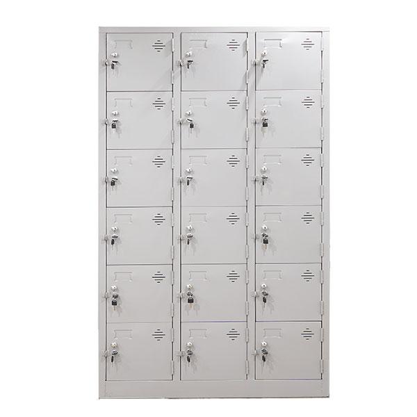 Tủ sắt locker 18 ô LK18